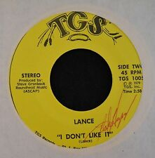 HEAR IT HEAVY 70's ROCKER Lance TGS 1005 I Don't Like It and Rage