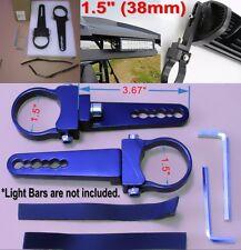 1.5 inch Tube Bull Bar/Roll Bar Mount Bracket Clamps for Off Road LED Light Bar