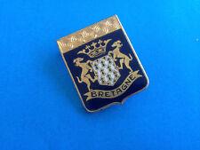Broche Blason Email Bretagne / French Enamel Brooch