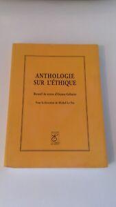 Anthologie sur l'éthique - Octave Gélinier