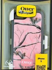 Genuine OtterBox Defender Series Case Apple iPhone 5 Pink Camo Retail Package