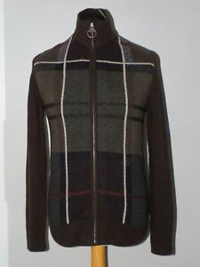 """Barbour Classic Tartan Sett Cardigan Size S """"New With Tags"""""""