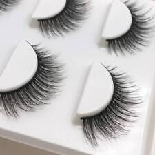 3 Pairs Natural False Eyelashes Fake Lashes Makeup 3D Faux Mink Extension‥