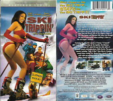 Ski Trippin' (2005 VHS) Eddie Hustle, Poochman, Tanji Roberts, Comedy, Slapstick