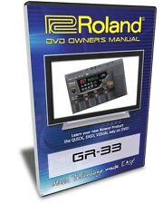 Roland (Boss) GR-33 DVD Video Training Tutorial Help