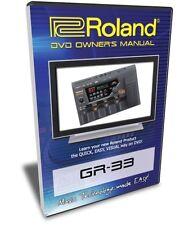 Roland (Boss) GR-33 DVD Video Training Tutorial Help