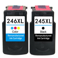 2x For Canon 245 246 XL PIXMA MG2522 MG2525 MG3020 MG2555 MX492 TS3120 TS3122