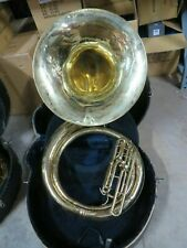 King Lacquered BBb Sousaphone w case, serviced and ready to play. KSP06