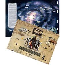 ESPAÑA MAPA GALACTICO + HB. 2017 STAR WARS 3D Darth Vader, C-3PO, YODA, R2-D2