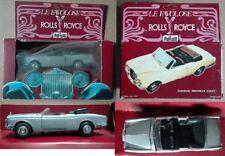 Polistil Politoys Rolls Royce Corniche Drophead Coupé spider die cast 1/43 1977