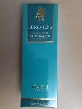Je Reviens by Worth 100ml EDT Spray ( 100ml)