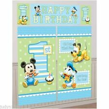 Unbranded Birthday, Child Mickey Mouse Party Scene Setters