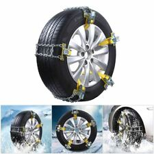 US 1× 205-225mm Wheel Anti-Skid Tire Chain Winter Car Snow Mud Emergency Driving