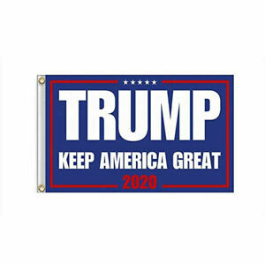 2020 Donald Trump President Reelection Flag Keep America Great MAGA 3'x5'