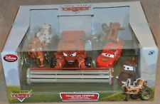 Disney Store Cars Diecast TRACTOR TIPPIN Deluxe Frank Mater McQueen Limited Ed.