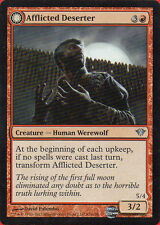Afflicted Deserter X2 Magic the Gathering Dark Ascension Set NM - Mint Condition