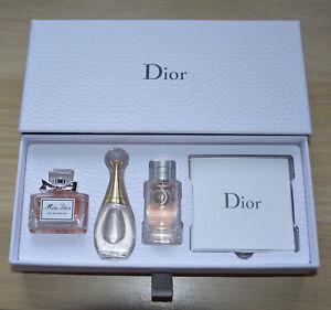 Cute Dior set of 3 miniatures J'Adore Miss Dior Joy in 5 ml mini bottles NIB