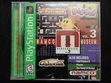 Namco Museum Vol. 3 (Sony PlayStation 1, 1996) COMPLETE