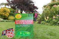 Speedy Lawn Seed & Feed Grass Seed Lawn Fertiliser 400g UK