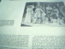 ephemera 1973 kent article theatre marlowe joannadavid richard gale