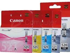 Canon 5x Genuine Ink Cartridge Pixma iP4600 Ip3600 iP4700 MX860 MX870 *RETAIL PK