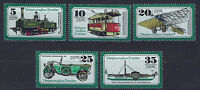 ALEMANIA/RDA EAST GERMANY 1977 MNH SC.1843/47 Transportatio museum Dresden