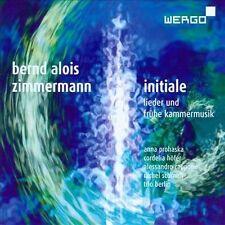 Zimmermann: Initiale, New Music