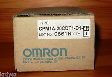 *NEW * Omron CPM1A-20CDT1-D1-Fr Micro Programmable Controller 12 VDC