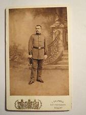Dessau - Soldat in Uniform - SS 1893 - Hugo Zirkenbach - Student ? / CDV