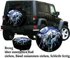 Sauvage Chevaux Voiture Jeep Truck Housse Pour Roue De Secours Référence