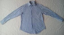 Coton DouX Chemise rayé bleu et blanc pour Homme 41/16
