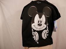 Disney Mickey Mouse Headphone  T shirt short sleeve   size M 8 youth