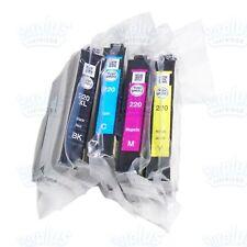Genuine Epson 220XL Black/220 3-Color Ink XP420 XP424 XP320 WF2650 WF2750 WF2760