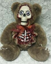"Zombie Teddy Bear 20"" Zombie Baby Halloween Horror Doll Prop"