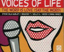 Voices of Life(CD Single)The Word Is Love (Say The Word)-New
