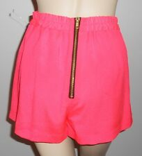 NAVEN *NWOT* NEON COLLECTION NEON WATERMELON SHORTS ~ DESIGNER ~SIZE XSMALL