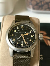 Vietnam Korean war US military Bulova MIL-W-3818A Navigational men's watch, Hack