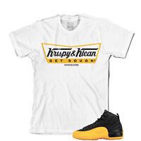 Tee to match Air Jordan Retro 12 University Gold Sneakers. Krispy Klean Tee
