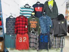 18 LG 10-12 YOUTH BOYS LOTS CLOTHING PLAID JOE BOXER ROUTE 66 SHIRTS JACKET HAT
