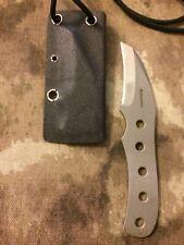 ELISHEWITZ Custom Knives HAWKBILL RAPTOR KNIFE neck boot chisel razor zt ek mod