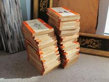 Job Lot of x40 Penguin Vintage Orange Penguin Paperbacks