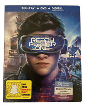 READY PLAYER ONE Blu Ray With Slipcover - Brand New