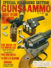 1965 Guns & Ammo Magazine: Special Reloading Section/Make Good Bullets/Shotgun