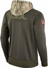 100% Authentic Nike 2017 Salute To Service Hoodie NFL Sweatshirt Dri On Field