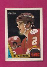 1987-88 OPC # 72 FLAMES AL MACINNIS  NRMT+ CARD (INV# A5373)