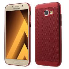 Samsung Galaxy J5 2017 Hülle Case Handy Cover Schutz Tasche Schutzhülle Etui Rot