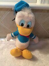 """Donald Duck sailor 10"""" walt disney vintage collectors plush korea 1980's Nwt"""