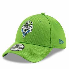 New Era Mens Seattle Sounders New Era Mesh 39THIRTY Stretch Fit Cap - Green