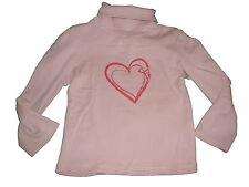VERTBAUDET superbe chemise manches longues taille 98 rose avec col roule!!!