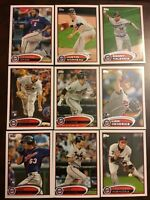 2012 Topps MINNESOTA TWINS Complete Team Set Series 1 & 2 - MAUER 23 Cards Look